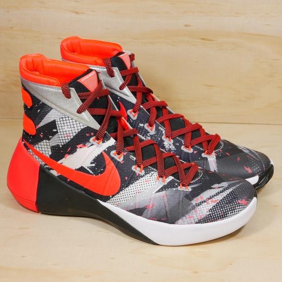 watch 69c2a 2850c NEW Nike HyperDunk 2015 Black Orange Basketball